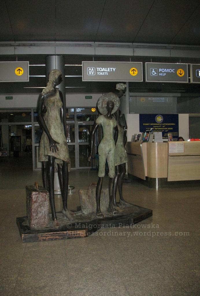 Poznań airport, Poland